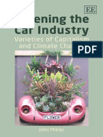John Mikler-Greening the Car Industry_ Varieties of Capitalism and Climate Change (2009)