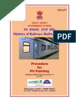 Draft Handbook on Procedure for PU Painting