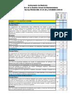 Diagnóstico y gestión de mantenimiento para un instrumento de medición
