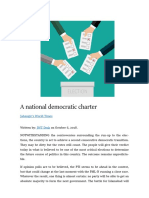A National Democratic Charter