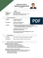 Cv Nilson 2019-Ing.químico Colegiado Cip 232151