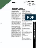 Refrigeration System Equipment room Design.pdf