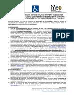 AFICHE CONCURSO N°PD-01-2019 30 setiembre 2019