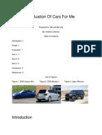evaluation report -3