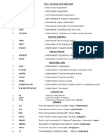 HQs International Organizations2