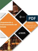 Organización y Funcionamiento del Estado