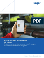 Manual de tubos Dräger y CMS