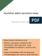 348983455 Kesalahan Dalam Penulisan Resep