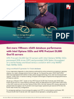 Get more VMware vSAN database performance with Intel Optane SSDs and HPE ProLiant DL380 servers