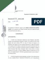 Caso 683-2019, Procedimiento Disciplinario MARIO BARRON CERNA