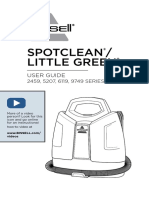 BISSELL User Guide SpotClean ProHeat Portable Carpet Cleaner 5207F