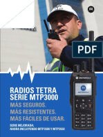 Motorola Mpt Tetra 3550 Español