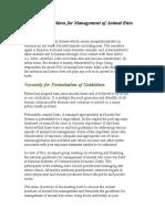 National Guidelines for Management of Animal Bites - Copy