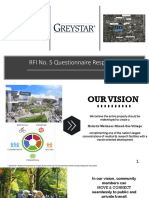 Greystar Response to City of Miami RFI No.5 8.12.19