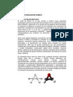 Métodos de Esterilización Química