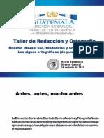 Taller de Redacción y OrtografíaDGDCAyTN2.A