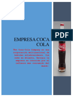 empresa coca cola