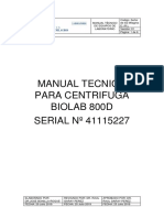 Manual tecnico de equipos de laboratorio
