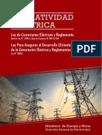 01 DL 25844 LCE actualizado al 2013 y su RLCE.pdf