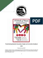 Florida Nursing Students Association Chapter Handbook - DRAFT (002)