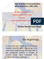 25Years of Science Communication