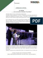 """27-09-19 Fortalecen sonorenses al Internado """"Cruz Gálvez"""""""