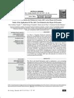 Estudio de La Aplicación Del Método de Costos ABC