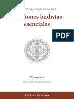 Oraciones Budistas esenciales