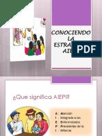 Conociendo La Estrategia Aiepi 2012