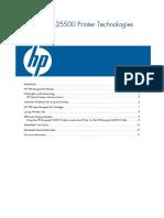 HP Designjet L25500 Printer Technologies