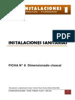 Ficha 8 Dimensionado Desagüe Cloacal