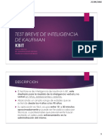 Test Breve de Inteligencia de Kaufman PDF