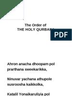 Holy Communion English