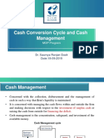 Cash Conversion Cycle and Cash Management