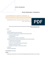 Desapropriação e Direito à Moradia - As Especificidades Da População de Baixa Renda Rdadmcont_n.24.08