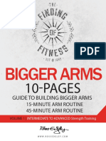 Arms work-out