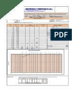 Granulometria de Spt 01 m 1