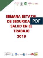 Programa Semana Estatal de Seguridad y Salud en El Trabajo 2019