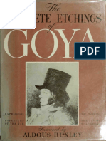 Aldous Huxley - The Complete Etchings of Goya-Crown Publishers (1943)
