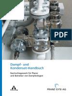 1 D Dampf Kond Handbuch Franz Gysi AG Suhr Schweiz