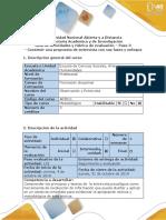 Guía de Actividades y Rúbrica de Evaluación - Paso 3 - Construir Una Propuesta de Entrevista Con Sus Fases y Enfoque (1)