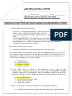 Taller Inicial Tarifas FD 2019