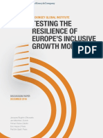 Testing the Resilience of Europes Inclusive Growth Model