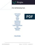 Resources - Pay Per Call Marketing Tools