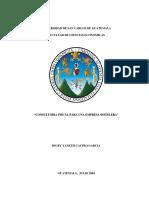 "Consultoria Fiscal Para Una Empresa Hotelera"""