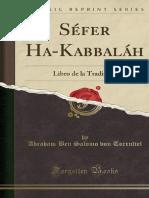 Sefer Ha-Kabbalah