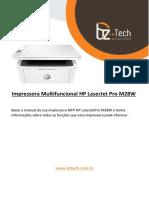 Manual Impressora Multifuncional Hp Laserjetpro m28w