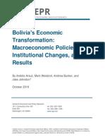 Bolivia's Economic Transformation