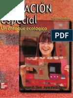 Educacion especial un enfoque ecologico (2a. ed.)
