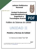 2.2 Gerencia de Sistemas de Calidad TQM